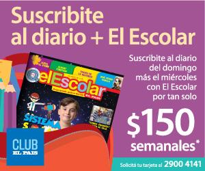 Suscribite al diario + El Escolar