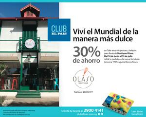 Promo en Boutique Olaso